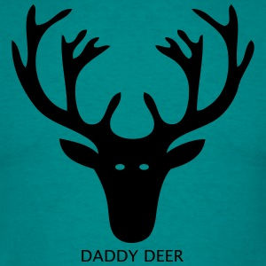 Daddy Deer T Shirt - Men's T-Shirt