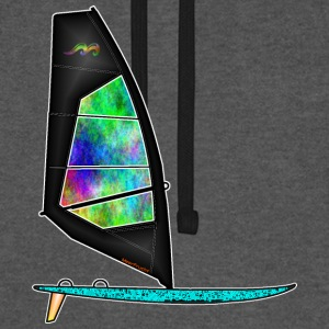 Windsurfer Sweat-shirts - Sweat-shirt baseball unisexe