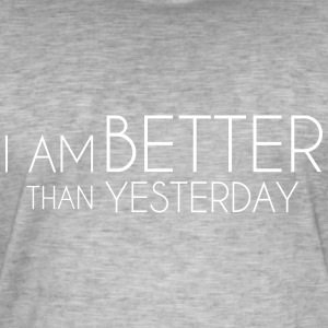 Better - T-shirt vintage Homme