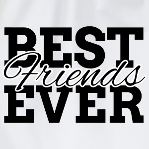 BEST FRIENDS EVER Bags & Backpacks - Drawstring Bag