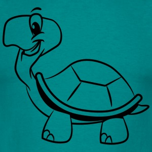 Turtle cute darling funny T-Shirts - Men's T-Shirt