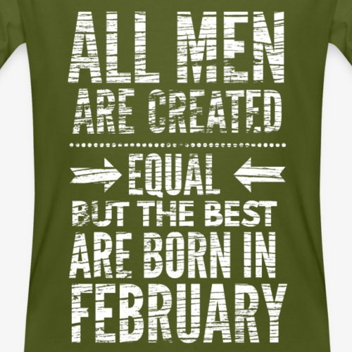 Verjaardag februari slogan
