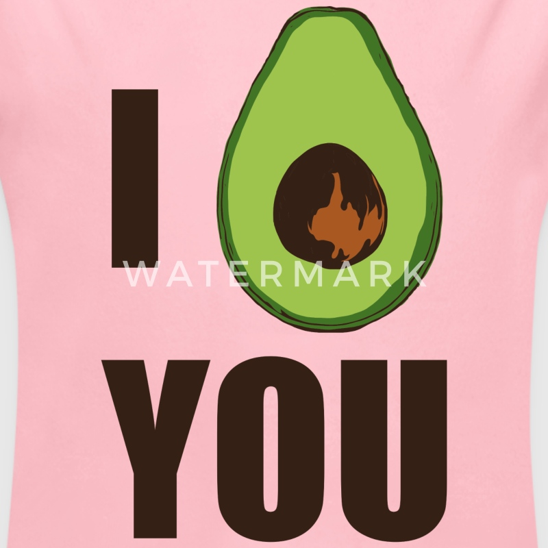 I AVOCADO YOU Baby Bodys - Baby Bio-Langarm-Body