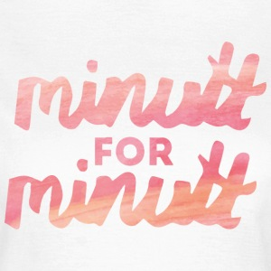 minutt for minutt T-shirts - T-shirt dam