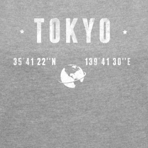 Tokyo T-Shirts - Women's T-shirt with rolled up sleeves