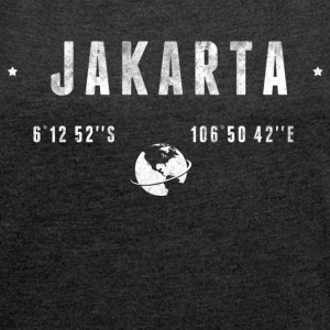 Jakarta T-Shirts - Women's T-shirt with rolled up sleeves