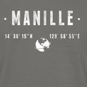 Manille  T-shirts - Herre-T-shirt