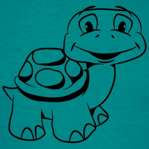Turtle kiffen joint witty T-Shirts - Men's T-Shirt