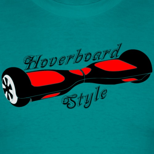 Hoverboard schwarz-rot