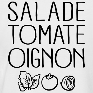 Salade Tomate Oignon Tee shirts - T-shirt baseball manches courtes Homme