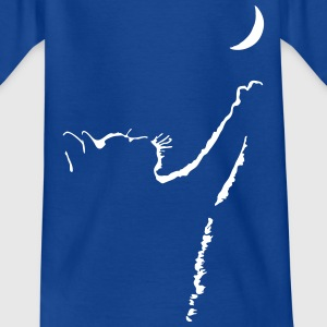 cat moon T-Shirts - Kinder T-Shirt