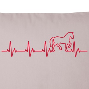 Horse Heartbeat Other - Sofa pillow cover 44 x 44 cm