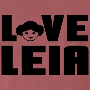 Love Leia T-Shirts - Men's Premium T-Shirt