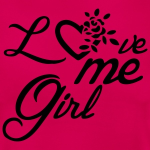 Love me, Girl T-Shirts - Frauen T-Shirt