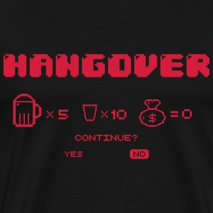 Game over drunk T-Shirts - Men's Premium T-Shirt