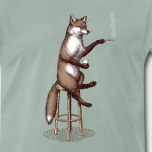 The Fox at the Bar T-Shirts - Men's Premium T-Shirt