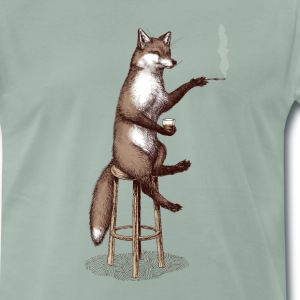 The Fox at the Bar Tee shirts - T-shirt Premium Homme