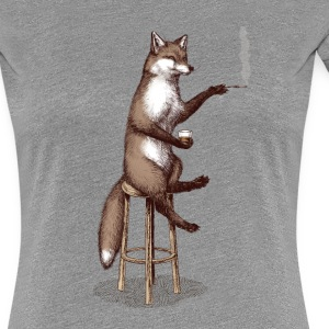 The Fox at the Bar T-Shirts - Frauen Premium T-Shirt