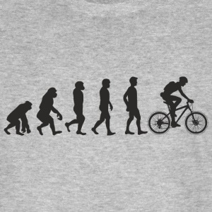 Evolution Bicycle T-Shirts - Männer Bio-T-Shirt