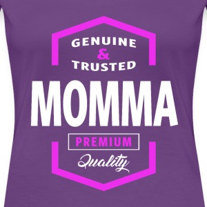 Genuine Momma Tees - Women's Premium T-Shirt