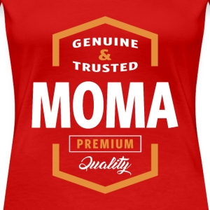 Genuine Moma Tees - Women's Premium T-Shirt