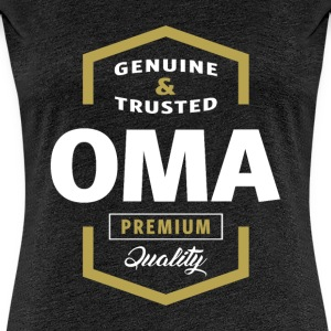 Genuine Oma Tees - Women's Premium T-Shirt