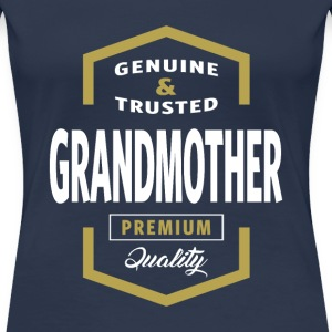 Genuine Grandmother Tees - Women's Premium T-Shirt