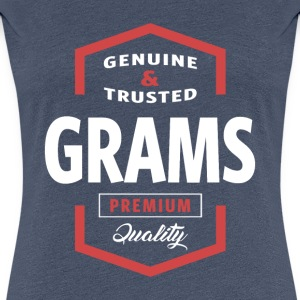 Genuine Grams Tees - Women's Premium T-Shirt