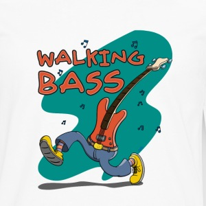 Walking Bass - Jazz Bassgitarre Manga larga - Camiseta de manga larga premium hombre