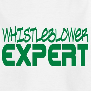 Whistleblower Expert Shirts - Kinderen T-shirt