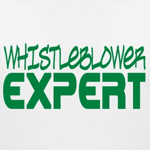 Whistleblower Expert T-Shirts - Women's V-Neck T-Shirt