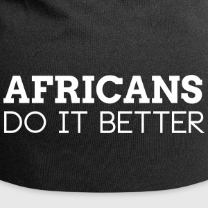 AFRICANS DO IT BETTER Caps & Hats - Jersey Beanie