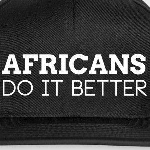 AFRICANS DO IT BETTER Caps & Mützen - Snapback Cap