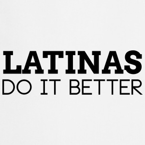 LATINAS DO IT BETTER  Aprons - Cooking Apron
