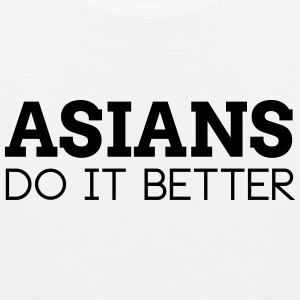 ASIANS DO IT BETTER Sports wear - Men's Premium Tank Top