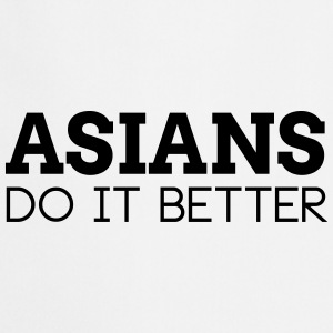 ASIANS DO IT BETTER  Aprons - Cooking Apron