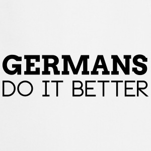 GERMANS DO IT BETTER  Aprons - Cooking Apron