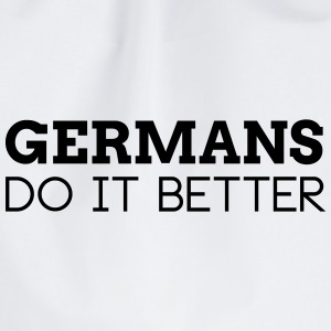 GERMANS DO IT BETTER Bags & Backpacks - Drawstring Bag