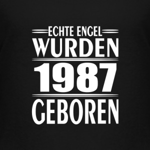 1987 - Geburt - Engel T-Shirts - Teenager Premium T-Shirt