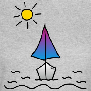 Segelboot Sonne T-Shirts - Frauen T-Shirt