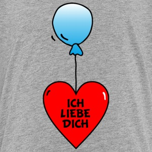 Luftballon Liebe T-Shirts - Teenager Premium T-Shirt