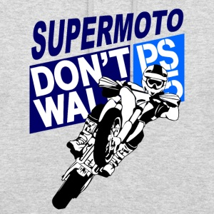 Supermoto Sweat-shirts - Sweat-shirt à capuche unisexe