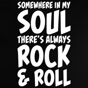 Rock and Roll in my Soul Tee shirts Bébés - T-shirt Bébé