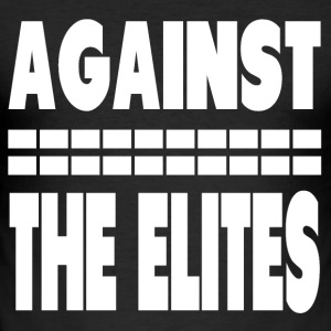 Against The Elites Tee shirts - Tee shirt près du corps Homme