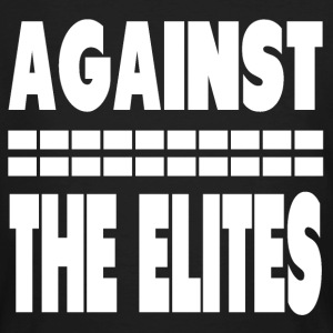 Against The Elites T-Shirts - Männer Bio-T-Shirt