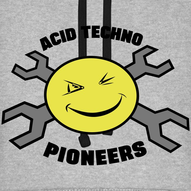 Acid Techno Pioneers Baseball look Hoodie/Original