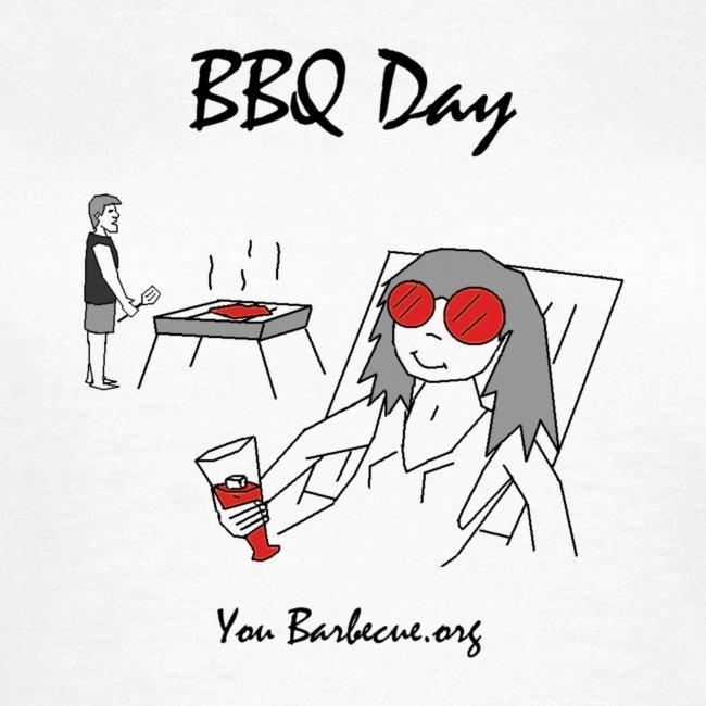 T-shirt Femme BBQ Day