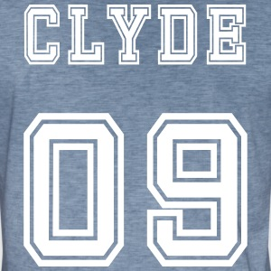 Valentine's Day Matching Couples Clyde Number - Men's Vintage T-Shirt