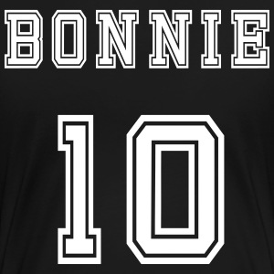 Valentine's Day Matching Couples Bonnie Number - Dame premium T-shirt