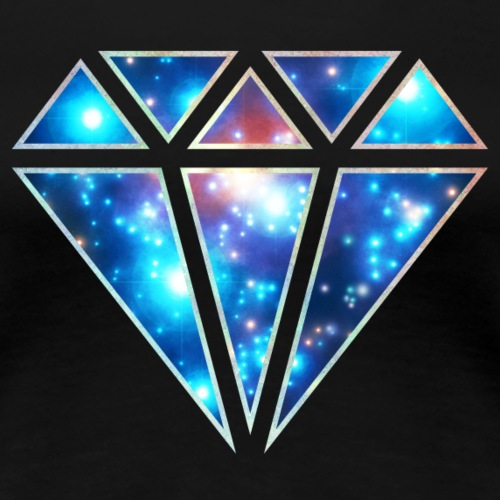 Diamant, space, Dreieck, abstrakt, galaxy style